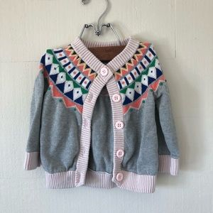 HANNA ANDERSSON toddler cardigan
